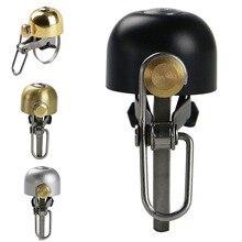 купить Bike Bicycle Handlebar Cycling Bike Bicycle Bell Aluminium Horn Ring MTB Bike Mini Bell Handlebar Ring Clear Loud Sound Bicycle по цене 51.48 рублей