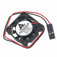 2PCS Gdstime DC 5V Dupont 2Pin 25x25x7mm 25mm Mini Brushless Cooling Fan