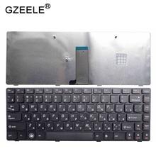 GZEELE מקלדת מחשב נייד עבור LENOVO G405G G480 G485 Z380 Z480 Z485 G490 G400 G405 V116920SS1 25202056 SK B6TSQ רוסית RU חדש