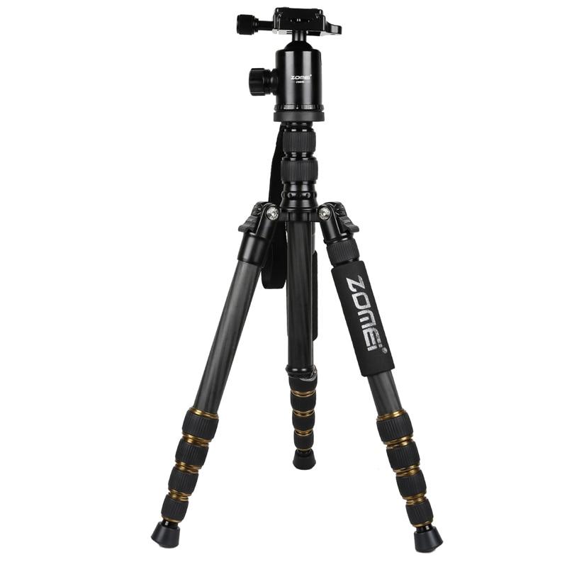 ZOMEI Z699C Professional heavy duty Travel Carbon Fiber Tripod Monopod&Ball Head Travel for SLR DSLR Digital camera