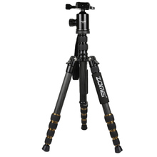 ZOMEI Z699C Carbon Fiber Portable Tripod with Ball Head Compact Travel Monopod Digital SLR DSLR Video Camera zomei z699c carbon fiber camera tripod stand lightweight portable with ball head travel tripode for canon sony nikon dslr camera