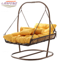 Two person Hammocks.Hanging chair. Basket. The balcony outdoor residential furniture.. Hammock. Indoor cradle swing.Hammocks