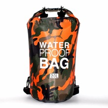 15L 20L 30L Outdoor PVC Ocean Dry Waterproof Bag Pack Pouch Backpack For Impermeable Swimming Drifting Sport Tas