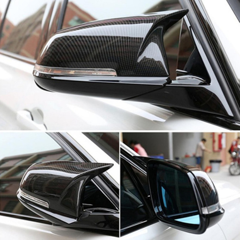 Left /& Right View Mirror Casing Cover Trim Cap For BMW F20 F30 F32 F34