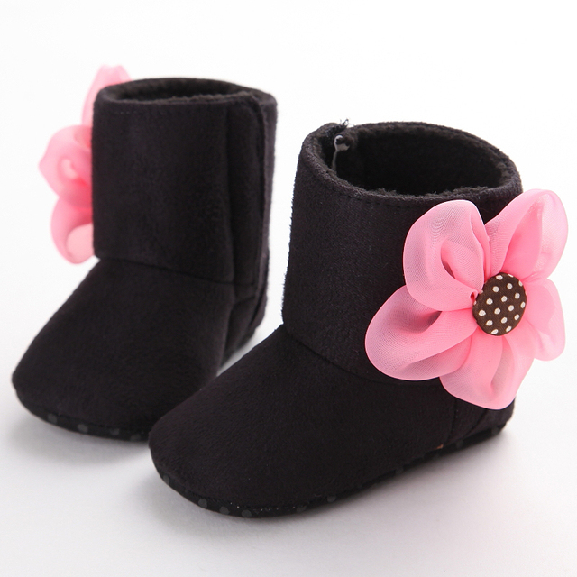 Aliexpress.com : Buy Newborn Baby Girls Boots Lovely Dimensional ...
