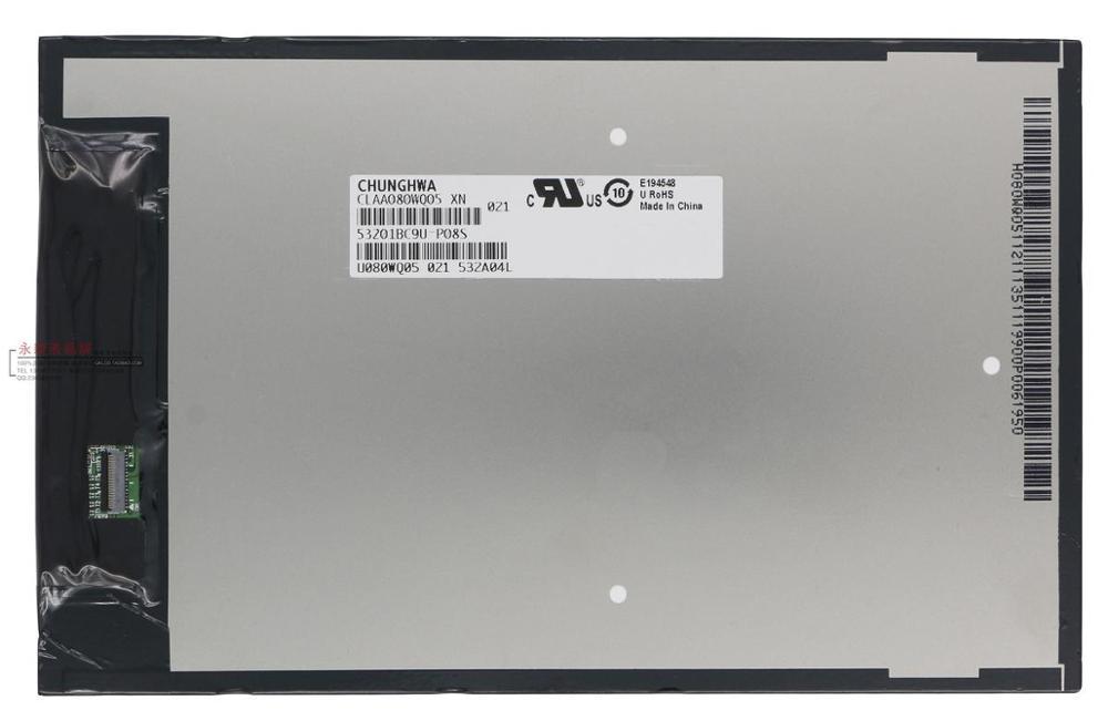 Chi VX8 CW0859 WIFI version CLAA080WQ05 LCD screen видеорегистратор intego vx 410mr