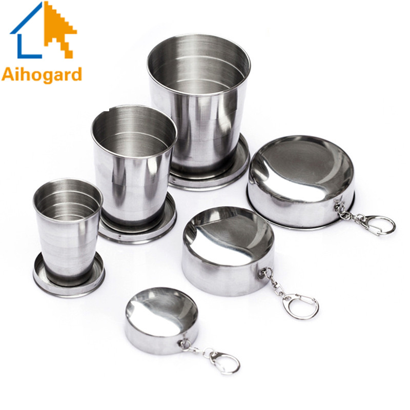 Aihogard Folding Portable Travel Collapsible Cup With