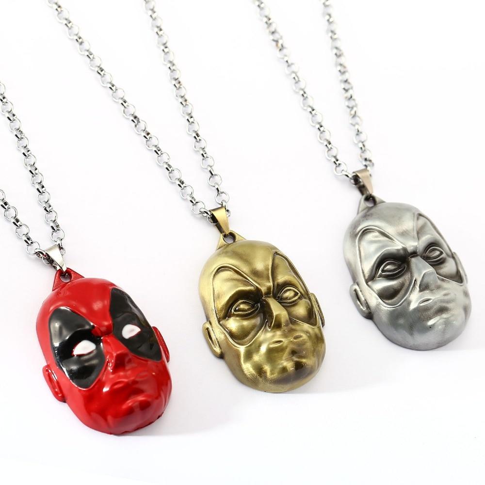 √Deadpool choker collar máscara pendiente hombres mujeres regalo ...