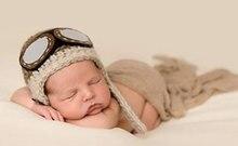 zdjęcie Aviator, czapka noworodka