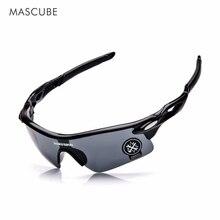 MASCUBE UV400 Sports Eyewear Outdoor Sport Moutain Bike Goggles Windproof Glasses Motorcycle Eyewear Oculos Ciclismo