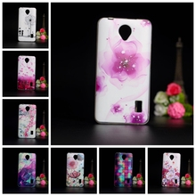 Phone Cases For Coque Huawei Ascend Y635 Case 3D Relief Flower Soft TPU Silicone Back Cover