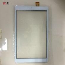 Дешевые 8 «емкостный Сенсорный экран панели планшета Стекло Внешний Экран Сенсор запасные части для dxp2j1-0552-080b-fpc x80 плюс