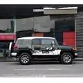 Adesivos de carro do corpo do lado tarja pneu styling acessórios do carro porta lateral do carro vinil gráfico personalizado para toyota FJ CRUISER 2018
