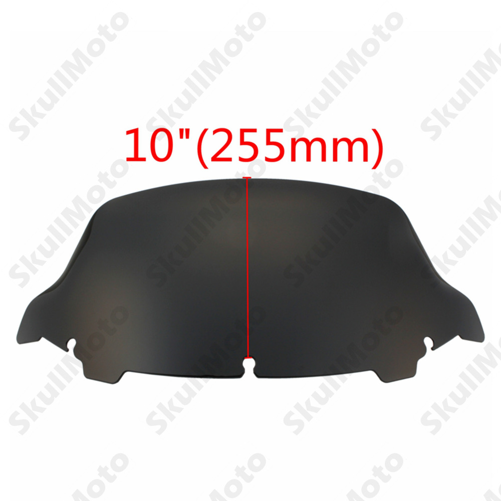 Motorcycle Accessories & Parts Motorcycle Motorbike 5 7 10.5 Windscreen Windshield For Harley Electra Glide Ultra Limited Classic 2014-2018