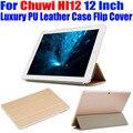 Tablet pc case para chuwi hi12 12 polegada original de cristal de luxo voltar pu leather case capa flip para chuwi oi 12 cw02
