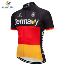 f91ca81ab FUQVLUN Pro Cycling Jersey 2019 Short sleeve Bicycle Clothing Ropa Ciclismo  Mens Summer Germany Bike Jersey