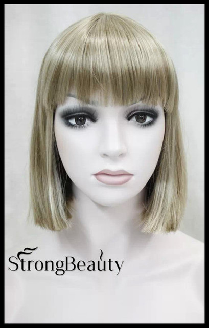Women perruque taylor swift hairstyle synthetic hair short bob women perruque taylor swift hairstyle synthetic hair short bob straight blonde gold brown red bobo wigs voltagebd Image collections