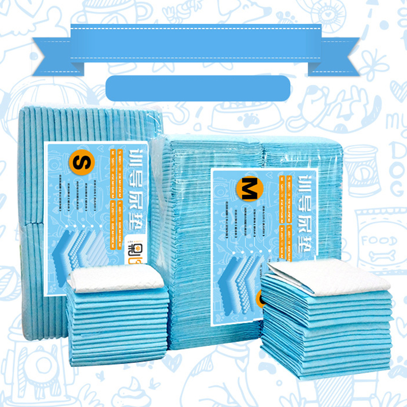 Super Absorbent and Antibacterial 50 to 100pcs Pet training Diaper Used as Urinal Pad