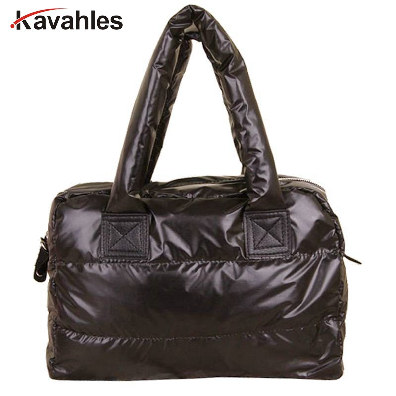 New,Women Handbag,feather Bags,New Winter,space Bags,han Edition Down Cotton-padded Bag, Tote,women Messenger Bag, YHZ208