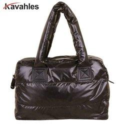Novo, bolsa feminina, bolsas de penas, novo inverno, sacos de espaço, edição han para baixo algodão-acolchoado mochila, tote, bolsa mensageiro feminina, yhz208