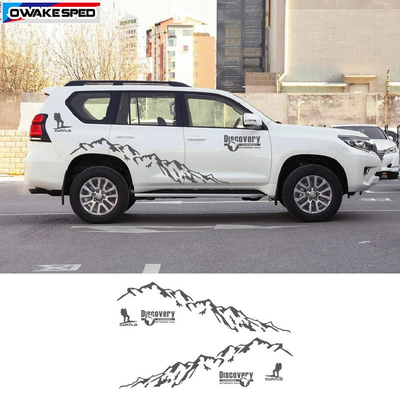 Mountain Man Sport Vinyl Decal Car Styling Door Side Decor Sticker Auto Body Customized Stickers For