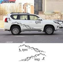 Горный Человек Спорт виниловая наклейка автомобиля стиль двери боковой Декор Стикеры Авто тела индивидуальные наклейки s для Toyota Prado Land Cruiser
