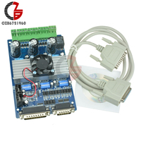 3 Axis TB6560 Stepper Motor Driver Controller Board 3.5A CNC DC Motor Drive Board for Unipolar Bipolar Stepper Motor