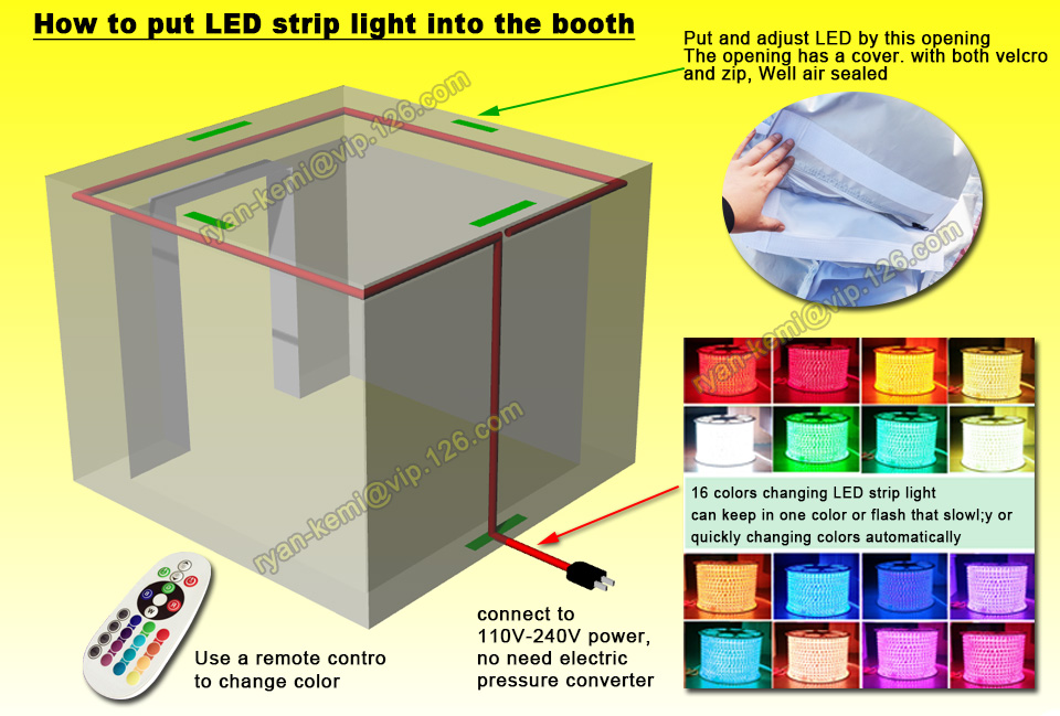LED-system-of-3m-inflatable-photo-booth
