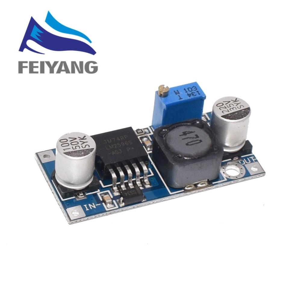 Generous 1pcs High Quality Original Lm2596 Dc-dc Input 4v-35v Output 1.23v-30v Adjustable Step-down Regulator Module Electronic Components & Supplies Active Components tie