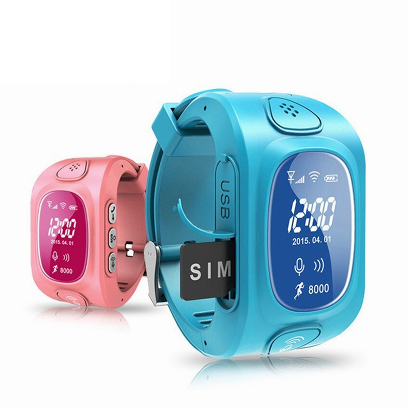 Kids Smart Watches with Camera GPS Location Child Touch Screen Waterproof Smartwatch SOS Anti Lost Monitor