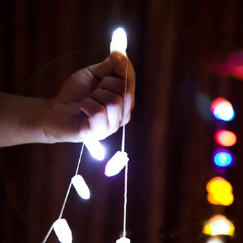 100pcs Led Ball Lamps Balloon Lights Fairy Lights Moon Starry String Lights For Home Wedding Party Decoration Crafting Costume 2