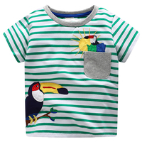 Children T Shirts For Boys Clothes 2018 Brand Baby Boys Summer Tops Tee Shirts Fille Animal