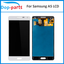 цена на 100Pcs Best Price LCD For Samsung Galaxy A5 A500 A500H A500F A500M LCD Display Touch Screen Glass Panel Assembly Replacement