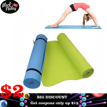 6MM Thick  EVA Comfort Foam Yoga Mat for Exercise, Yoga, and Pilates