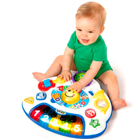 D562 Bilingual study tables section 6 36 months baby early childhood educational toys sound and light