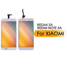 Touch Screen Sensor Front Glass Digitizer Replacement For Xiaomi Redmi 5A For Xiaomi Redmi Note 5A replacement 35mm hs366 6v4 5a ophthalmic lamp 6v27w op2366 p44s for haag straight hs900 930 neitz shin nippon