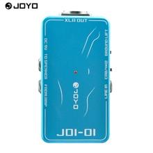 JOYO JDI-01 DI Box Passive Direct Box Amp Simulation Violao Guitarra Guitar Effect Pedal for Musical Instrument Electronic