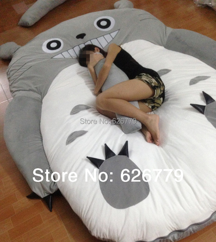 16kg High Quality And Low Price Totoro Design Sofa Bed Mattress Sleeping Bag Hot