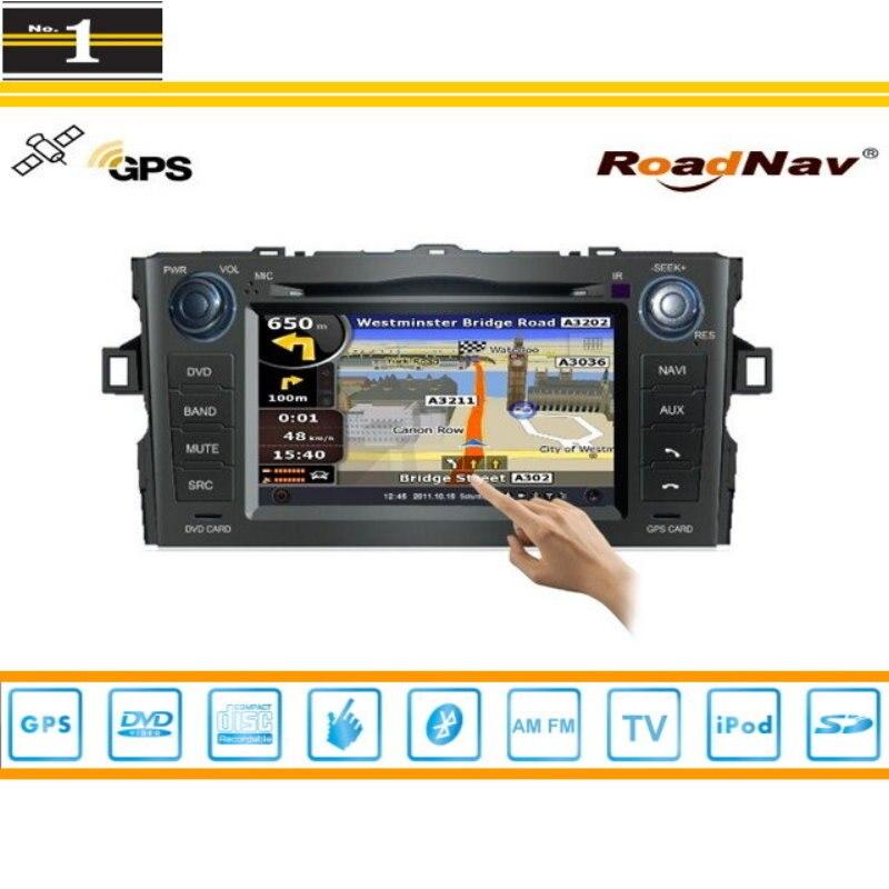 Para Toyota Corolla Sedan 2007 ~ 2012 Coches Reproductor de DVD GPS de Navegació