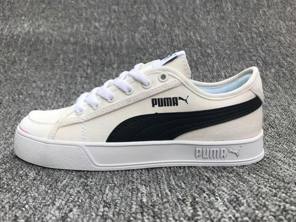 The new PUMA SMASH V2 VULC CV men Cadet shoes pinkbadminton shoes