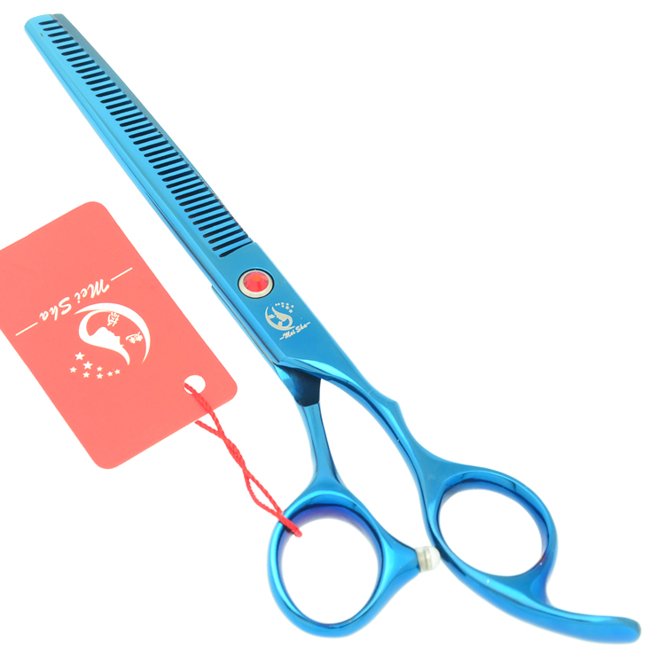 Meisha 7 inch Professional Pet Grooming Scissors Kit Straight Cutting Thinning Curved Shears for Dog Grooming HB0117 in Dog Scissors from Home Garden