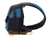 Kamera çantası dslr çantası göğüs paketi bir omuz çapraz vücut crossbody torbaları c6088