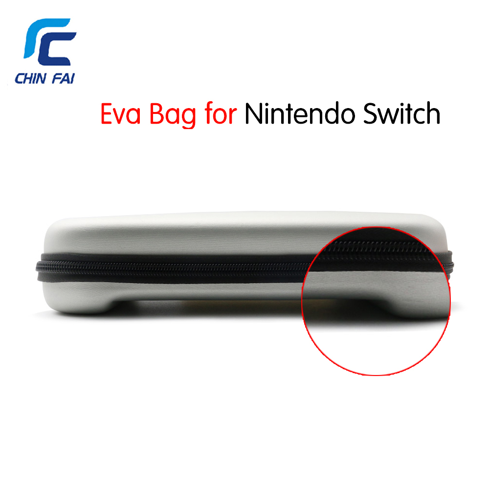 Hard EVA Travel Bag for Nintend Switch Portable Protective Zipper Bag for NS Console Joy-Con Controller and other Accessories