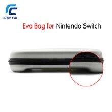 Dur EVA Voyage Sac pour Nintend Commutateur Portable De Protection Zipper Sac pour NS Console Joie-Con Contrôleur et d'autres accessoires
