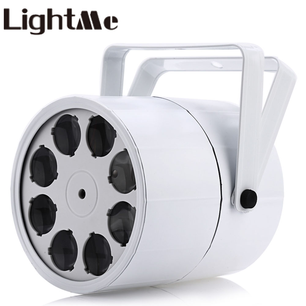 LightMe 8LED Home Entertainment Professional Stage 24W LED Projection Lamp Indoor Outdoor Disco Club Commercial Stage Lighting home entertainment new mini stage lamp beautiful lighting projector 3w led projection lamp low price high quality ktv party lamp