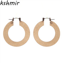 The new 2017 fashion accessories han edition eardrop female personality exaggerated earrings stud