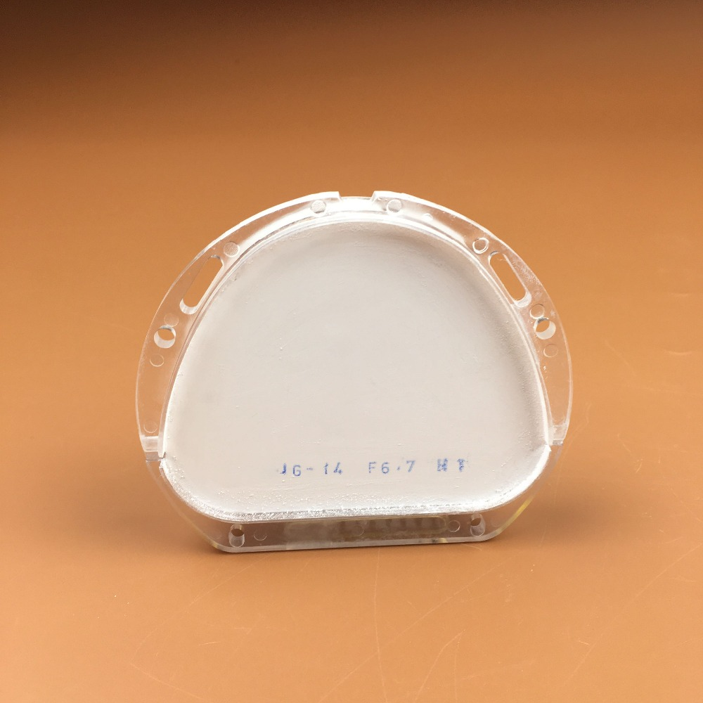 1 Piece 89*71*10-20mm CAD CAM Amann Girrbach System HT Dental Zirconia Ceramic Block for Making Porcelain Teeth Denture 89 71 16mm 89 71 18mm dental zirconia blocks 5pcs cad cam amann girrbach system dental ceramic blocks making crowns