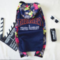 2017 Thrasher jacket men windbreaker male harajuku coat  palace skateboards sweatshirt hip hop mens tracksuit tops clothing