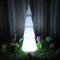 Светодиодный круглый Рождественская елка Декоративный ночник лампа Цвет Управление Moon лампы газон Новогоднее украшение осветитель Luminaria
