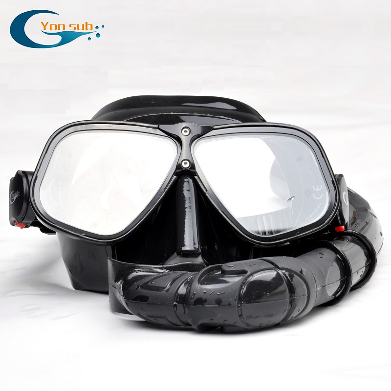 Magnesium and Aluminum Alloys Silicone Diving Mask Set Snorkeling Underwater Hunting Professional Scuba Diving Equipment copozz brand professional underwater hunting diving mask scuba free diving snorkeling mask flexible silicone large frame glasses